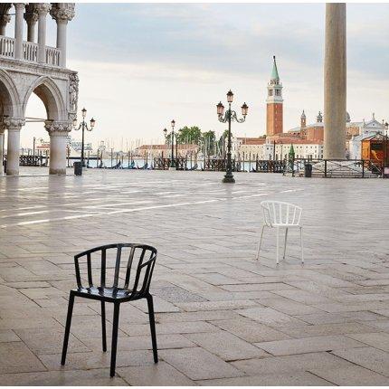 Scaun Kartell Venice design Philippe Starck negru