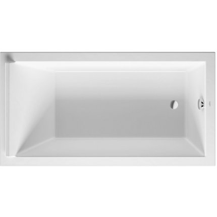 Cada rectangulara Duravit Starck 170x90cm, acril, incastrabila