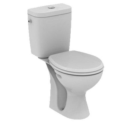 Set complet vas WC Vidima SevaFresh cu  rezervor si capac, evacuare verticala