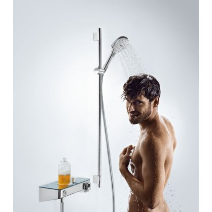Baterie dus termostatata Hansgrohe ShowerTablet Select 300 alb/crom