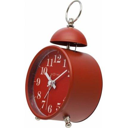 Ceas de masa NeXtime Single Bell 16cm, Red