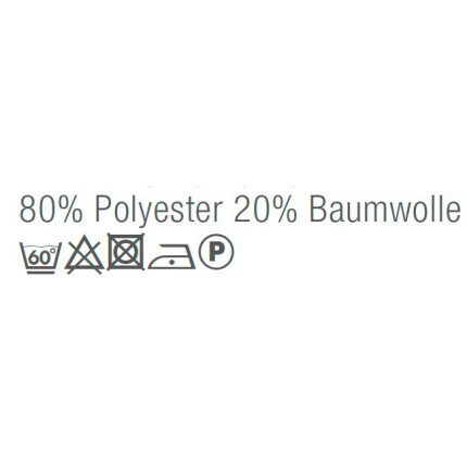 Husa perna Sander Basics Sky 50x50cm, 77 albastru-gri