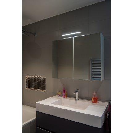 Iluminare oglinda SLV Dorisa, LED 5.2W, IP44, 30cm, crom