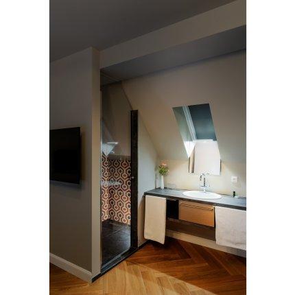 Iluminare oglinda SLV Dorisa, LED 5.2W, IP44, 30cm, gri