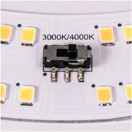 Aplica SLV Lipsy 30 Dome, LED 15W, d 30cm, IP44, alb