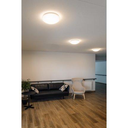 Aplica SLV Lipsy 50 Dome, LED 21W, d 40cm, IP44, alb