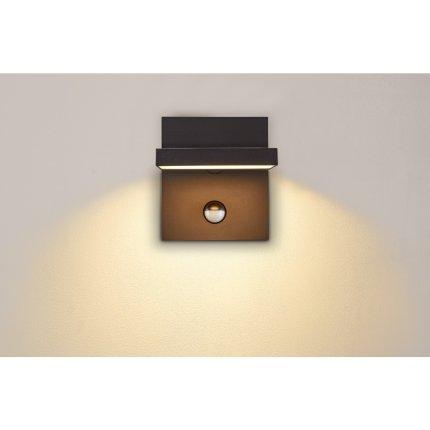 Aplica exterior SLV Abridor Sensor, LED 14W, senzor miscare, IP55, antracit
