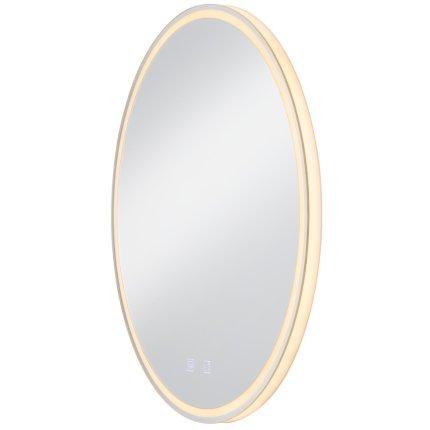 Oglinda cu iluminare SLV Trukko WL, LED 25W, d60cm, IP44, tehnologie anti-aburire