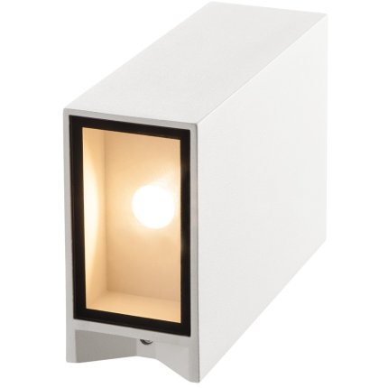 Aplica exterior SLV Quad 2 XL, LED 8W, IP44, alb