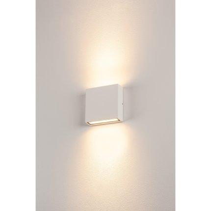 Aplica exterior SLV Big Quad, LED 8.8W, IP54, alb