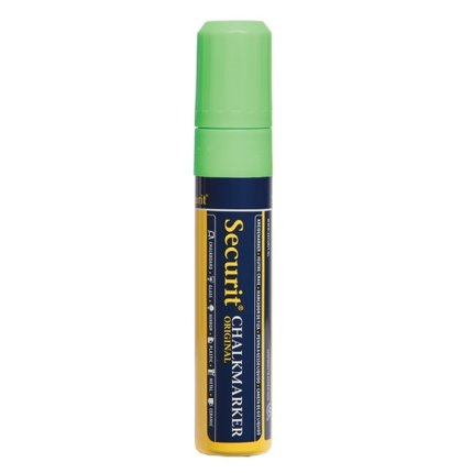 Marker creta Securit Liquid Large 7-15mm, verde