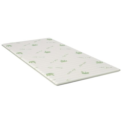 Top saltea iSleep Smart Topper Aloe 80x200cm, inaltime 3cm