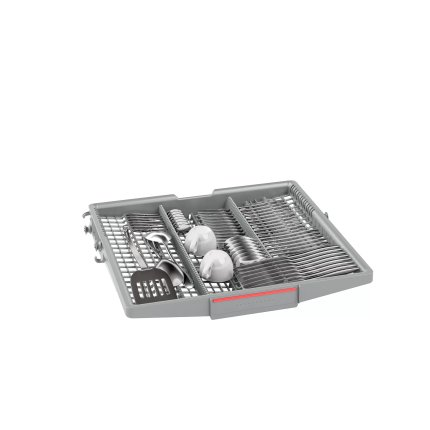 Masina de spalat vase incorporabila Bosch SMH6ZCX42E Serie 6, 14 seturi, 60cm, clasa A+++, 8 programe, uscare cu Zeolith, VarioHinge
