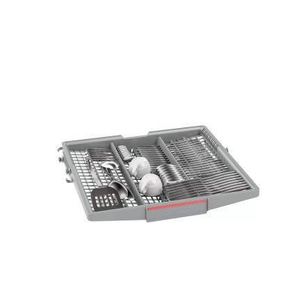 Masina de spalat vase incorporabila Bosch SMI4HVS33E Serie 4, 13 seturi, 6 programe, 60cm, clasa A++, Home Connect