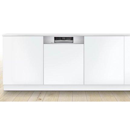 Masina de spalat vase incorporabila Bosch SMI6ECS69E Serie 6, 14 seturi, 8 programe, 60cm, clasa A+, Extra Clean Zone