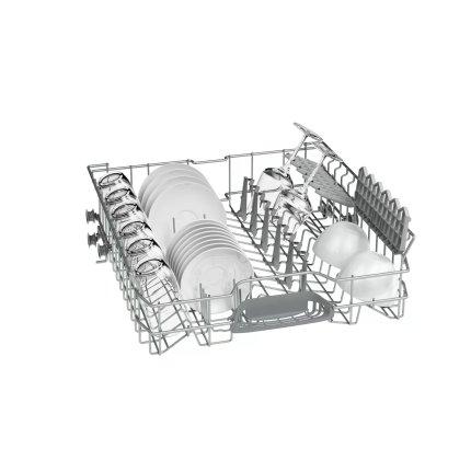 Masina de spalat vase Bosch SMS25AI05E Serie 2, 60cm, 12 seturi, clasa A++, inox anti-amprenta