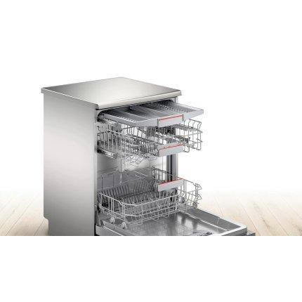 Masina de spalat vase Bosch SMS4EVI14E Serie 4, 13 seturi, clasa A+++, 6 programe, EfficientDry, silver inox anti-amprenta