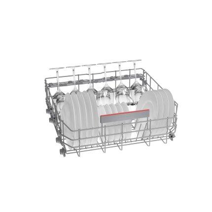 Masina de spalat vase Bosch SMS6ECI07E Serie 6, 14 seturi, 6 programe, 60cm, clasa A+, EfficientDry, silver inox anti-amprenta