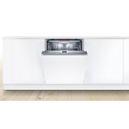 Masina de spalat vase incorporabila Bosch SMV4HVX33E Serie 4,  13 seturi, 6 programe, 60cm, clasa A++, Home Connect
