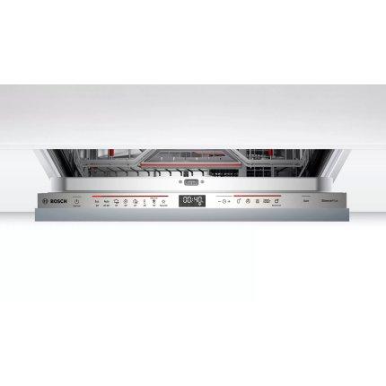 Masina de spalat vase incorporabila Bosch SMV6EDX57E Serie 6, 13 seturi, 8 programe, 60cm, clasa A++, Extra Clean Zone, Extra Space