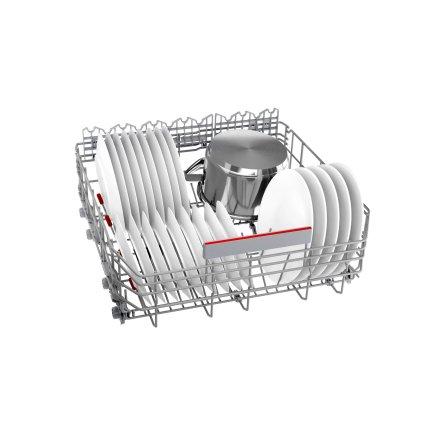 Masina de spalat vase incorporabila Bosch SMV6ZCX49E Serie 6, 14 seturi, 8 programe, 60cm, clasa A+++, uscare cu Zeolith