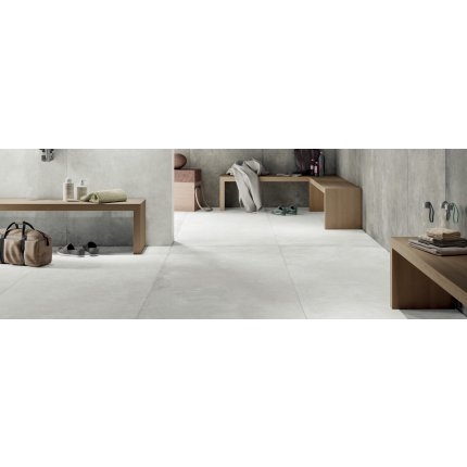 Gresie portelanata rectificata FMG Walk-On Maxfine 150x100cm, 6mm, Snow