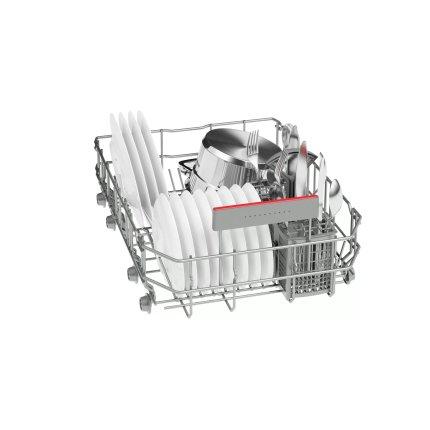 Masina de spalat vase incorporabila Bosch SPV45IX05E Serie 4, 45cm, 9 seturi, clasa A++, ExtraDry