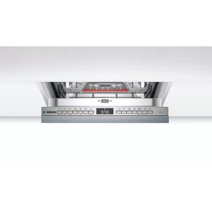 Masina de spalat vase incorporabila Bosch SPV4EMX20E Serie 4, 10 seturi, 6 programe, 45cm, clasa A++, Home Connect, EfficientDry
