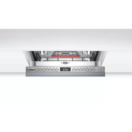 Masina de spalat vase incorporabila Bosch SPV4HMX61E Serie 4, 10 seturi, 6 programe, 45cm, clasa A+, Home Connect