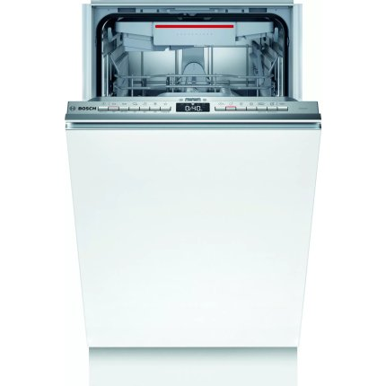 Masina de spalat vase incorporabila Bosch SPV4XMX20E Serie 4, 10 seturi, 6 programe, 45cm, clasa A+, Home Connect