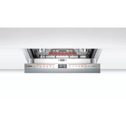 Masina de spalat vase incorporabila Bosch SPV6ZMX23E Serie 6, 10 seturi, 6 programe, 45cm, clasa A+++, uscare cu Zeolith