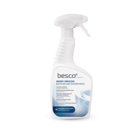 Solutie de curatare Besco pentru cazi si cadite acryl
