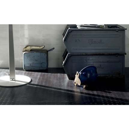 Gresie portelanata rectificata Diesel living Stage Diving Metallic 60x30cm, 9mm, Blue