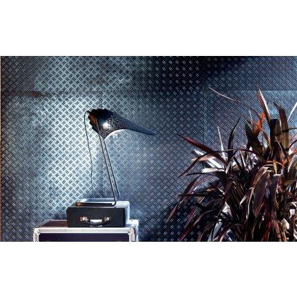 Gresie portelanata rectificata Diesel living Stage Boss Metallic 60x60cm, 9mm, Grey