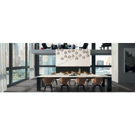 Gresie portelanata FMG Marmi Classici Maxfine 300x150cm, 6mm, Statuario Light Lucidato