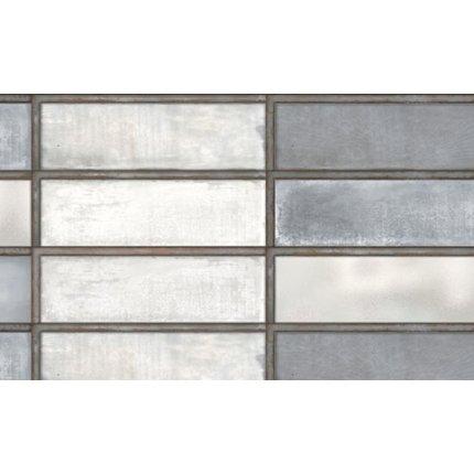 Faianta Diesel living Industrial Glass 10x30cm, 7mm, Steel