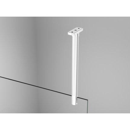 Cabina de dus Walk-in Sanswiss Easy Japan, profil alb , 80 cm, sticla 8 mm