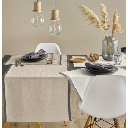 Napron Sander Linnen Style 38x85cm, 19 beige