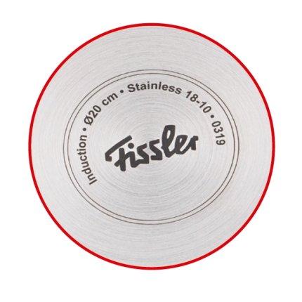 Set oale inox cu capac sticla Fissler Copenhagen 5 piese, inductie