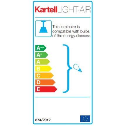 Suspensie Kartell Light Air design Eugeni Quitllet, d14cm, bej