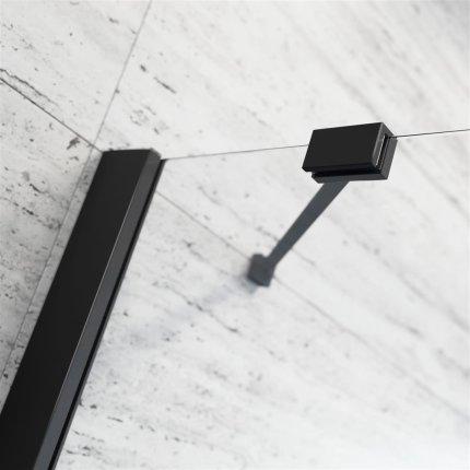 Usa batanta cabina Radaway Essenza New Black KDD 90cm, orientare dreapta