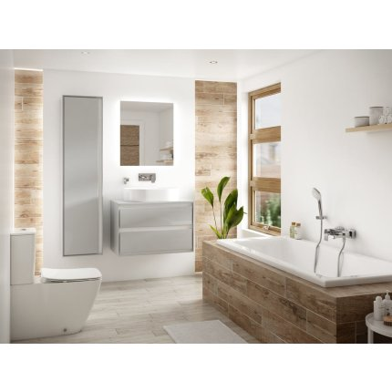 Oglinda Ideal Standard Mirror & Light Ambient cu iluminare LED, 50x70cm