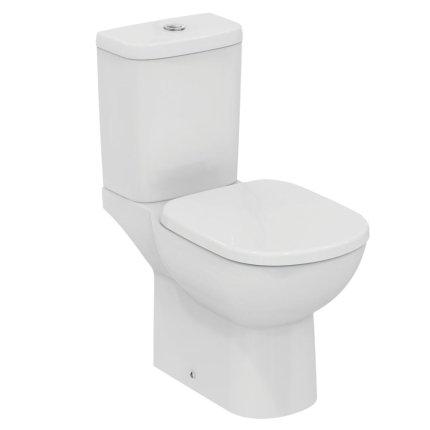 Set complet vas WC Ideal Standard Tempo cu rezervor asezat si capac inchidere lenta