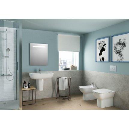 Oglinda Ideal Standard Mirror & Light cu iluminare LED mediana, 60x70cm