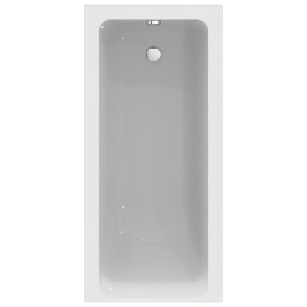 Cada rectangulara Ideal Standard Connect Air 150x70cm, acril, complet echipata cu panouri, sistem sustinere si sifon