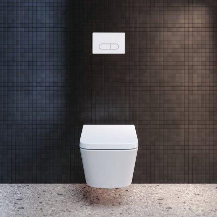 Vas wc suspendat Ideal Standard Blend Cube Aquablade