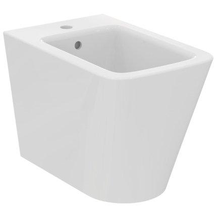 Bideu pe pardoseala Ideal Standard Blend Cube back-to-wall