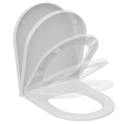Capac wc Ideal Standard Blend Curve cu inchidere lenta