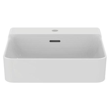 Lavoar Ideal Standard Conca 50cm, montare pe mobilier, finisaj suplimentar spate