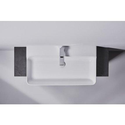 Lavoar Ideal Standard Conca 80cm, fara preaplin, montare pe mobilier, finisaj suplimentar spate